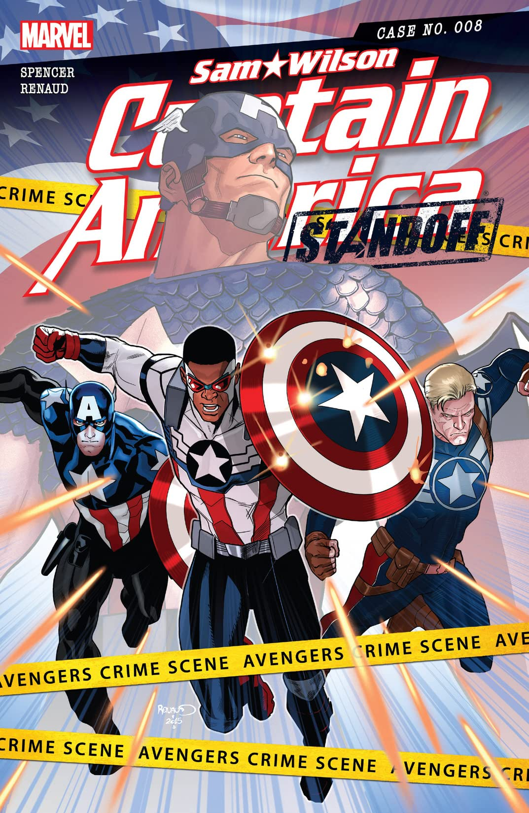 Captain America: Sam Wilson (2015-2017) #8
