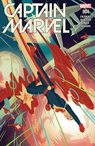 Captain Marvel (2016-) #4