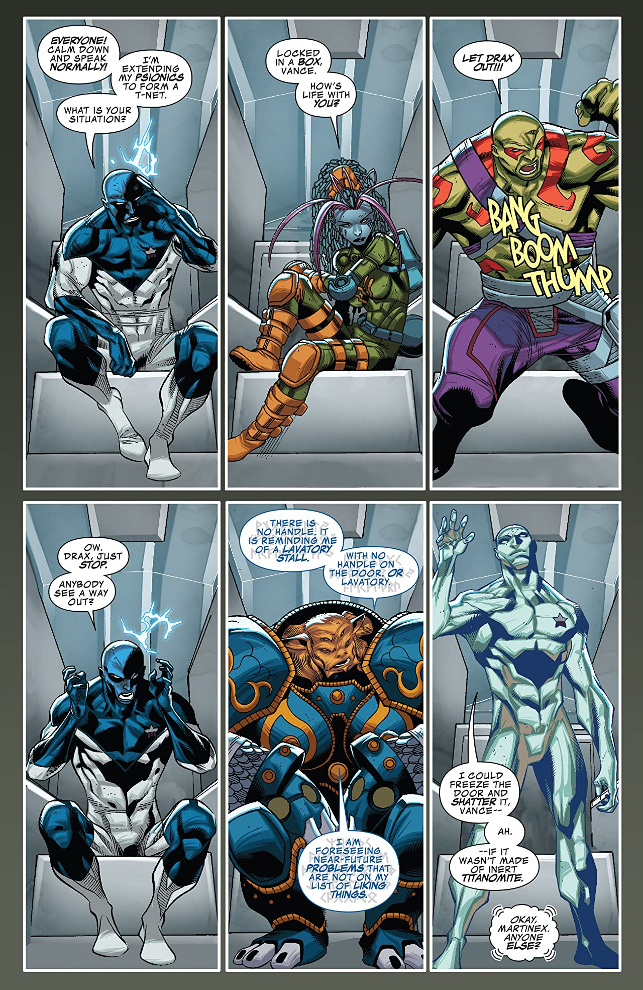 Guardians of Infinity (2015-2016) #5