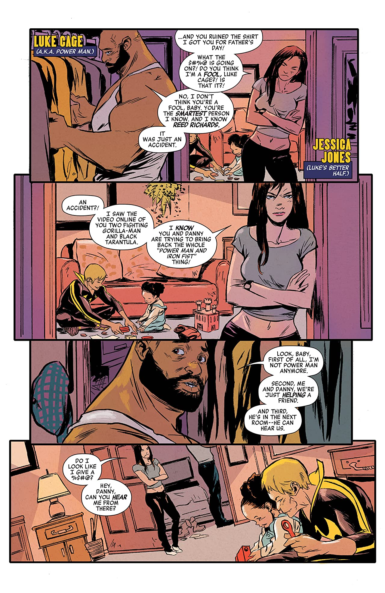 Power Man and Iron Fist (2016-2017) #3