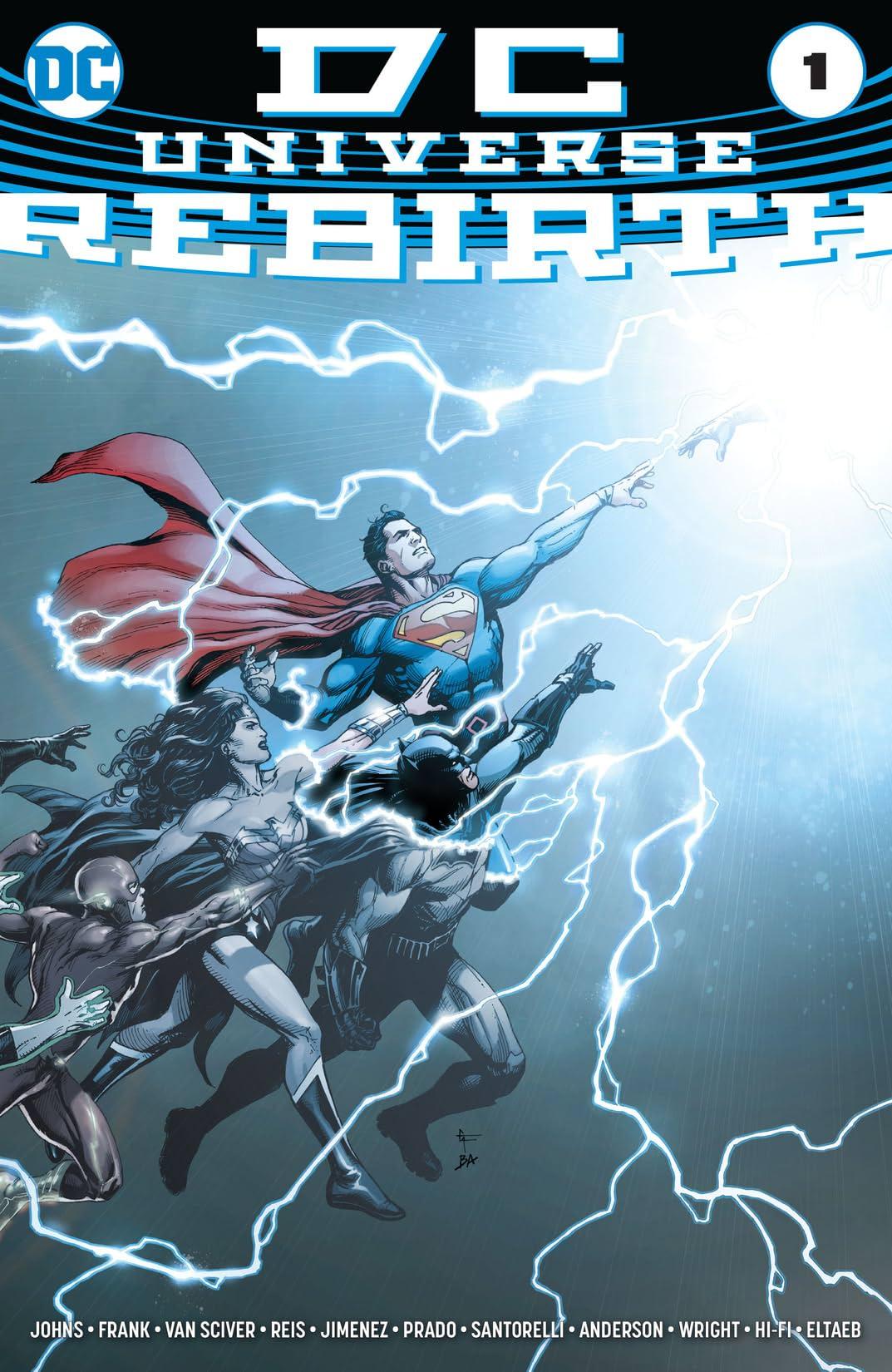 DC Universe: Rebirth (2016) No.1