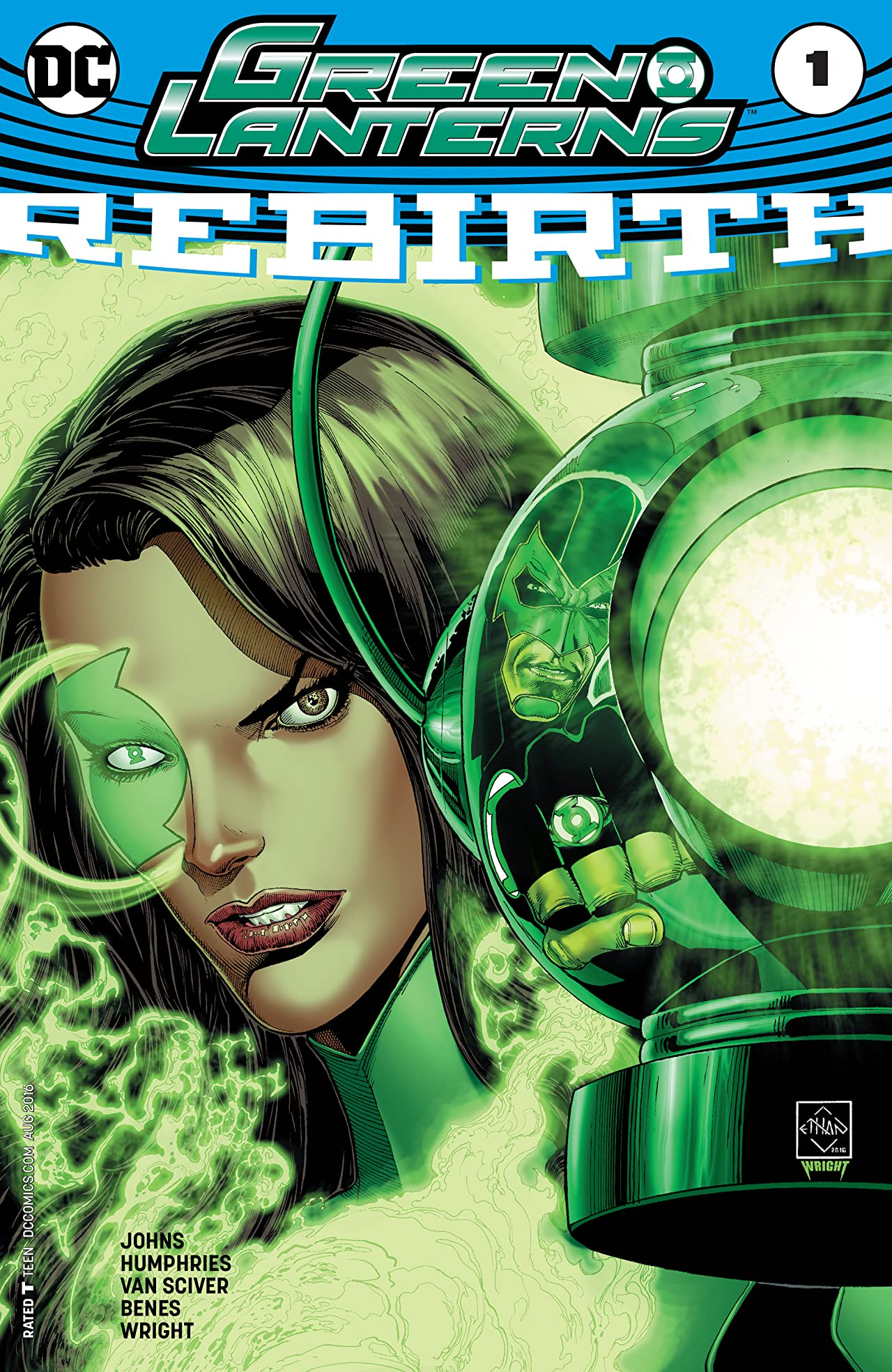 Green Lanterns: Rebirth (2016) #1