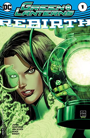 Green Lanterns: Rebirth (2016) No.1