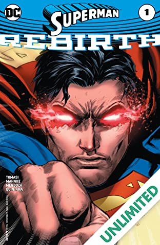 Superman: Rebirth (2016) #1