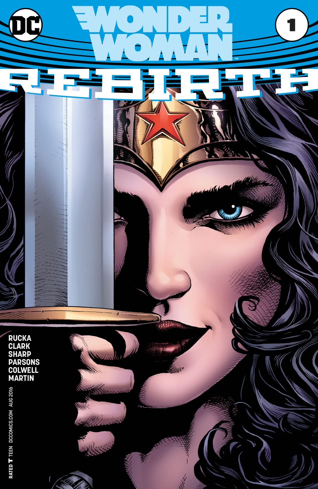 Wonder Woman: Rebirth (2016) No.1