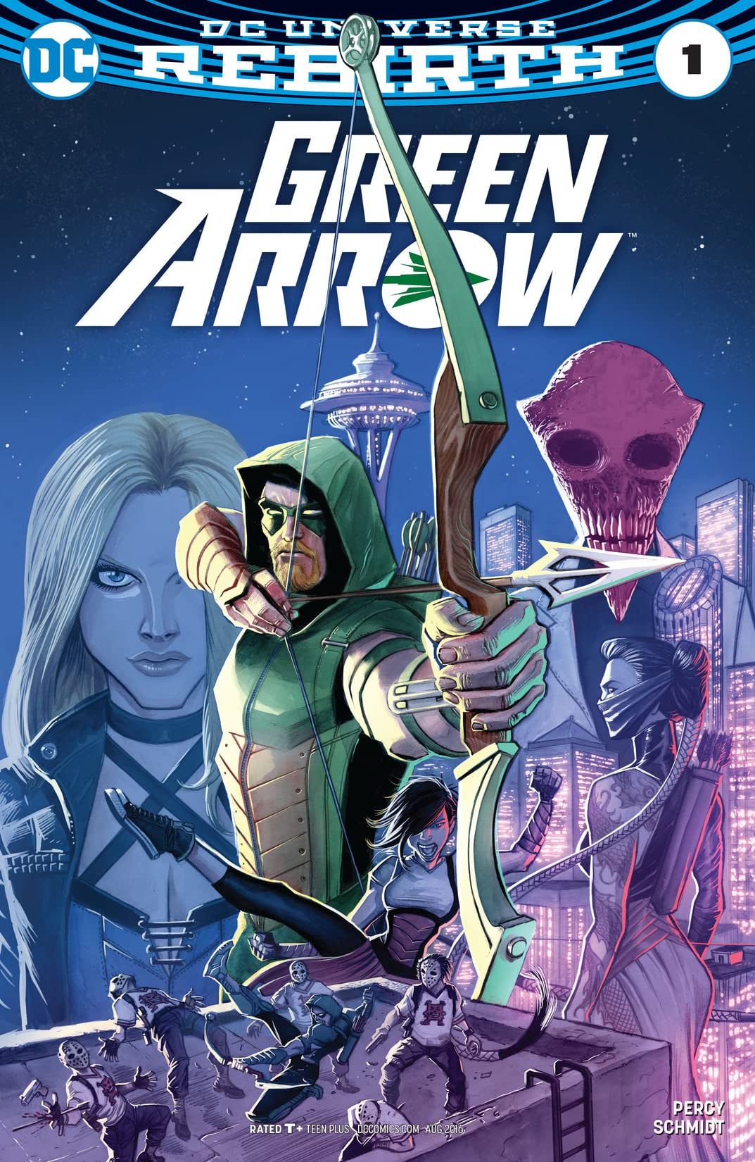 Green Arrow (2016-) #1