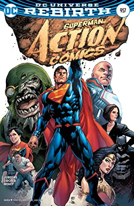ACTION COMICS #957 SUPERMAN REBIRTH DC COMIC BOOK JUNE 2016 NEW 1