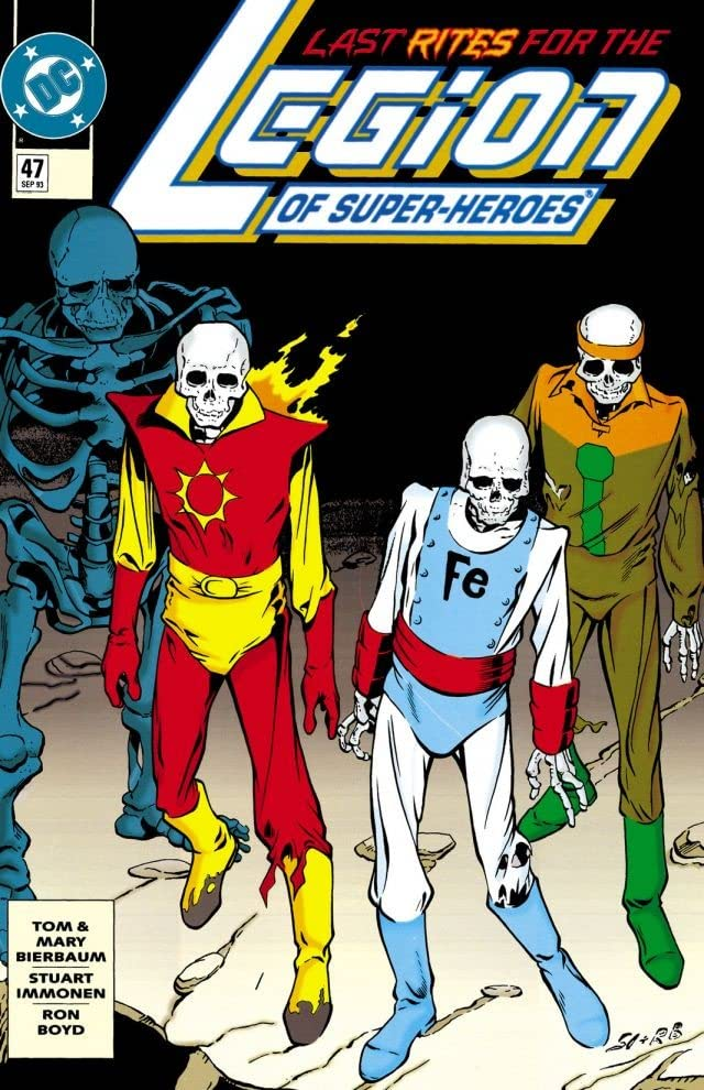 Legion of Super-Heroes (1989-2000) #47