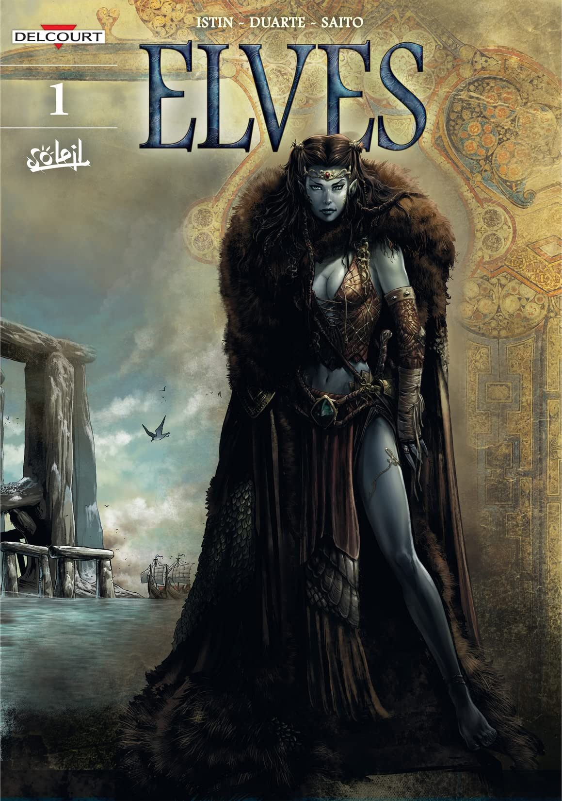Elves Vol. 1: The Crystal of the Blue Elves