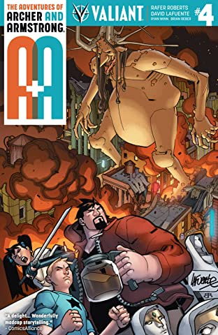 A&A: The Adventures of Archer & Armstrong No.4: Digital Exclusives Edition