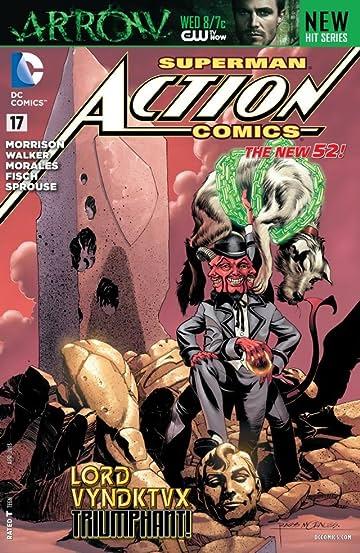 Action Comics (2011-) #17