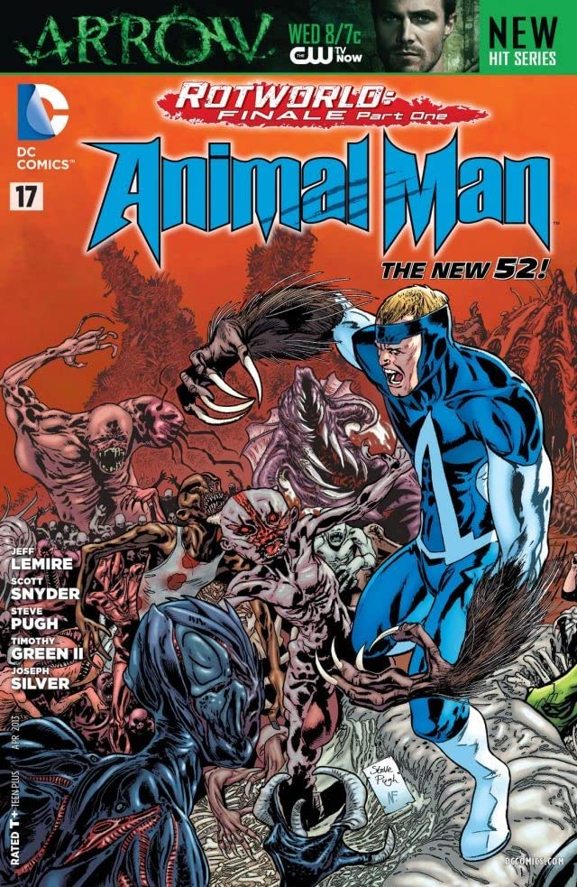 Animal Man (2011-2014) #17