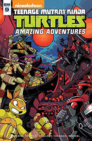 Teenage Mutant Ninja Turtles: Amazing Adventures No.9