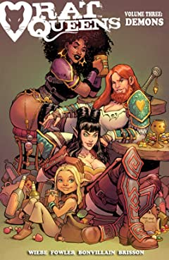 Rat Queens Vol. 3: Demons
