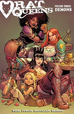 Rat Queens Tome 3: Demons