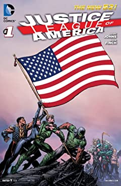 Justice League of America (2013-2015) No.1