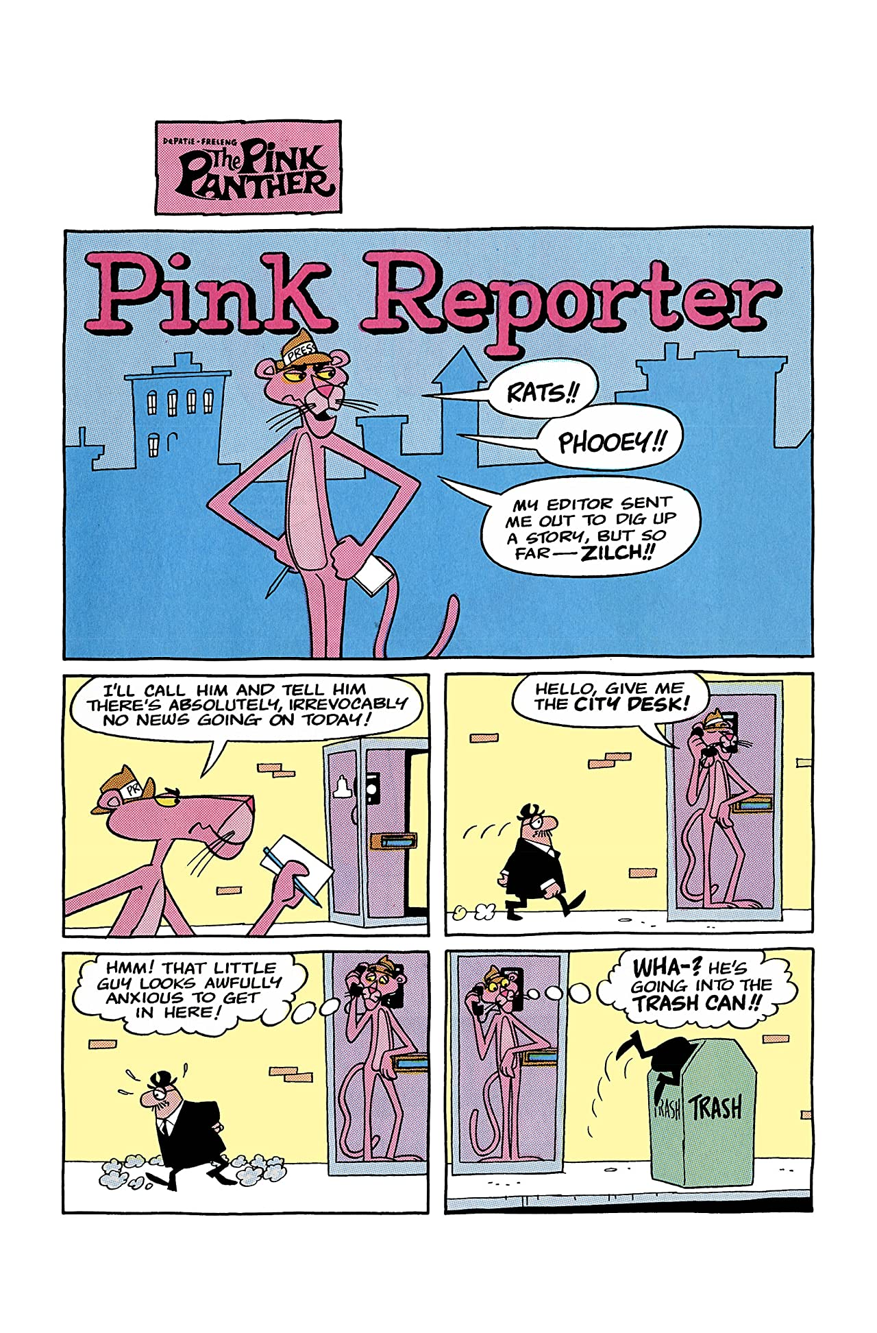 Pink Panther Classic #4