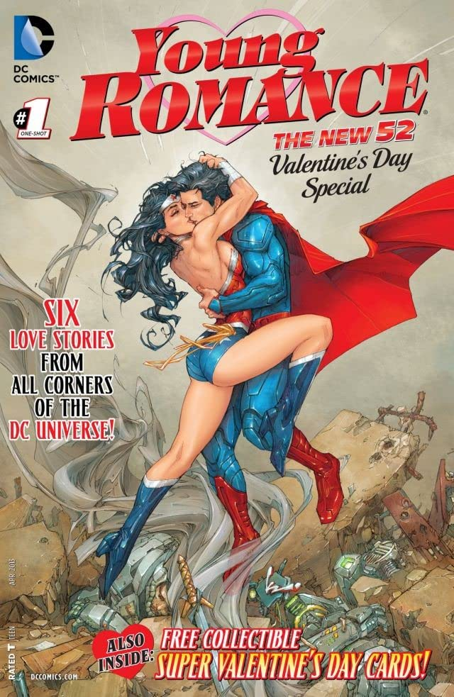 Batman romance wonder woman and dc