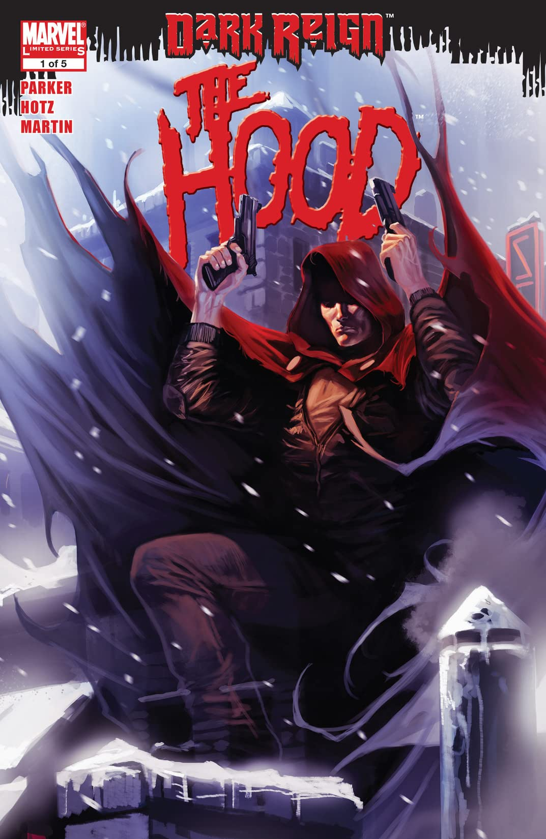 Dark Reign: The Hood (2009) #1 (of 5)
