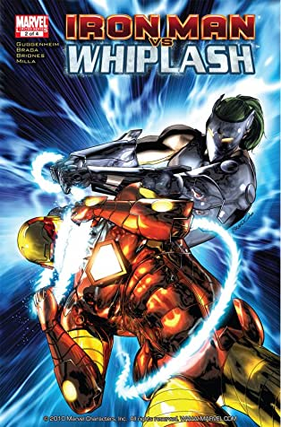 Iron Man Vs. Whiplash #2 (of 4)