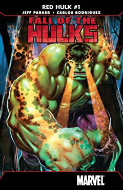 Fall of the Hulks: Red Hulk (2010) No.1 (sur 4)