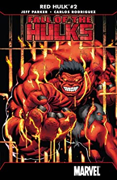Fall of the Hulks: Red Hulk (2010) No.2 (sur 4)