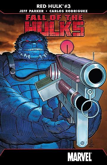 Fall of the Hulks: Red Hulk (2010) #3 (of 4)
