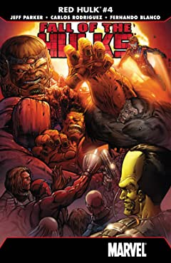 Fall of the Hulks: Red Hulk (2010) No.4 (sur 4)