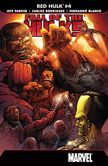 Fall of the Hulks: Red Hulk (2010) #4 (of 4)
