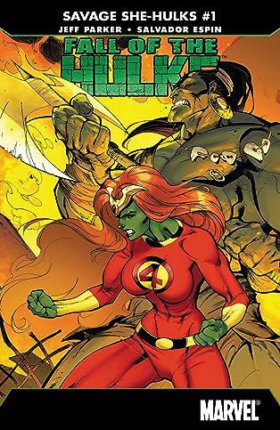 Fall of the Hulks: The Savage She-Hulks (2010) #1 (of 3)