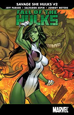 Fall of the Hulks: The Savage She-Hulks (2010) #2 (of 3)