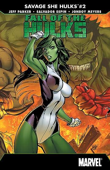 Fall of the Hulks: The Savage She-Hulks (2010) #2 (of 3)