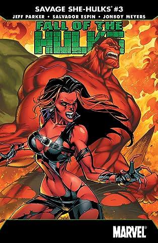 Fall of the Hulks: The Savage She-Hulks (2010) #3 (of 3)