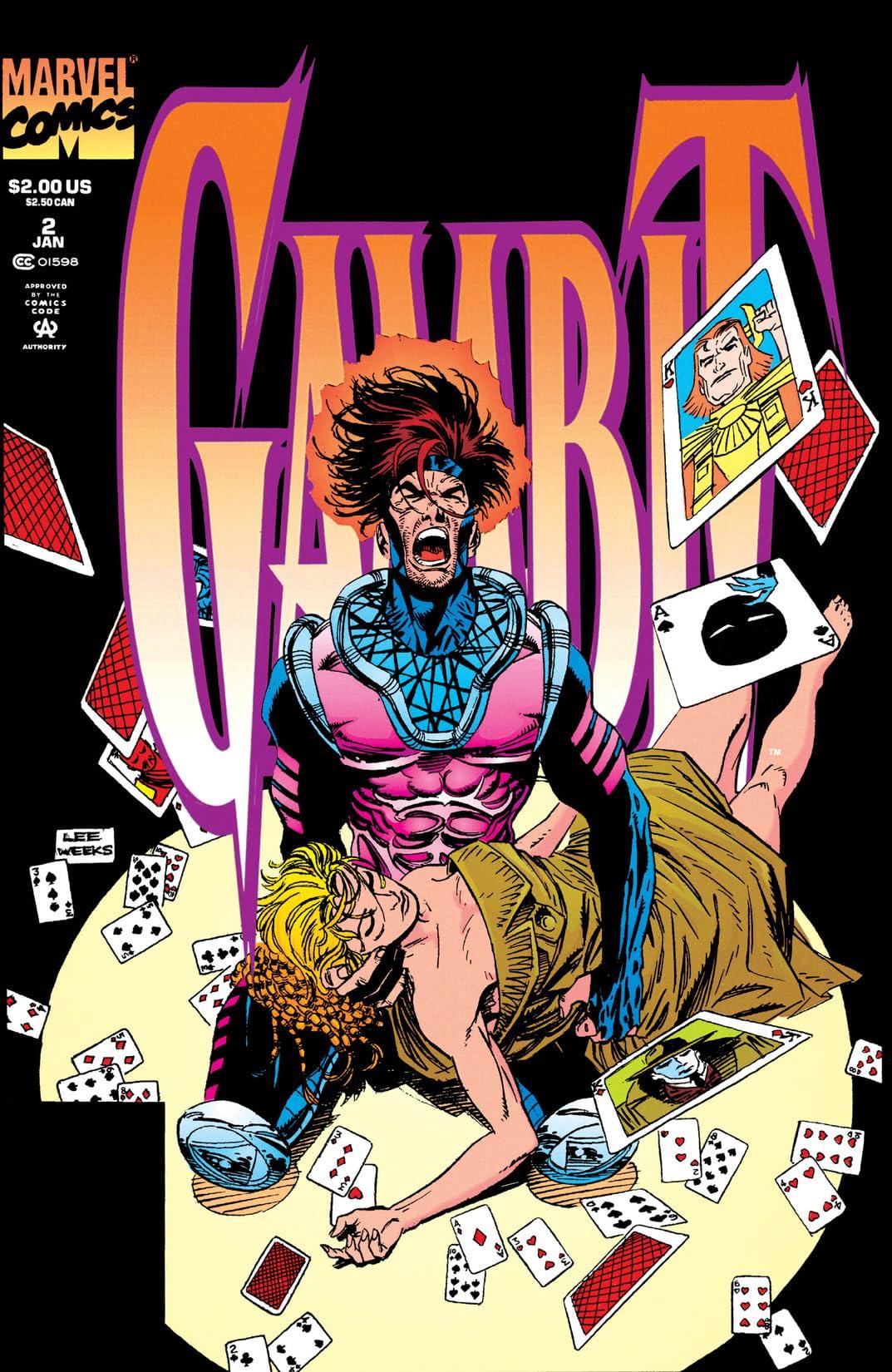 Gambit (1993-1994) #2 (of 4)