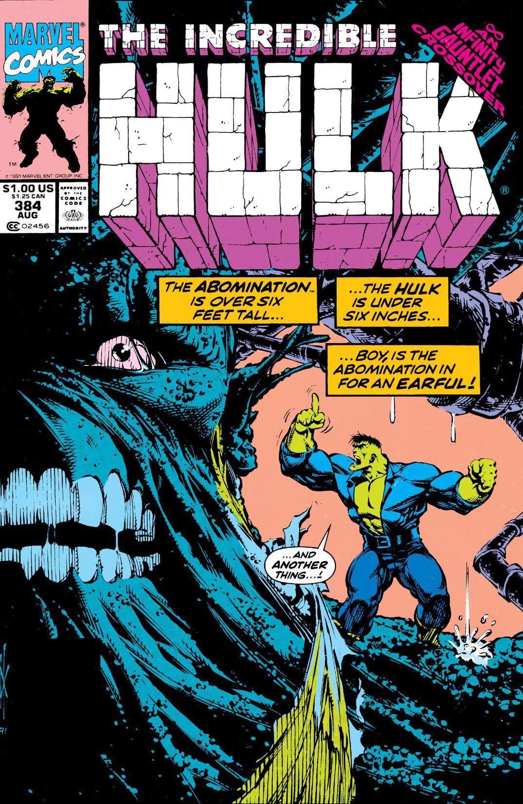 Incredible Hulk (1962-1999) #384