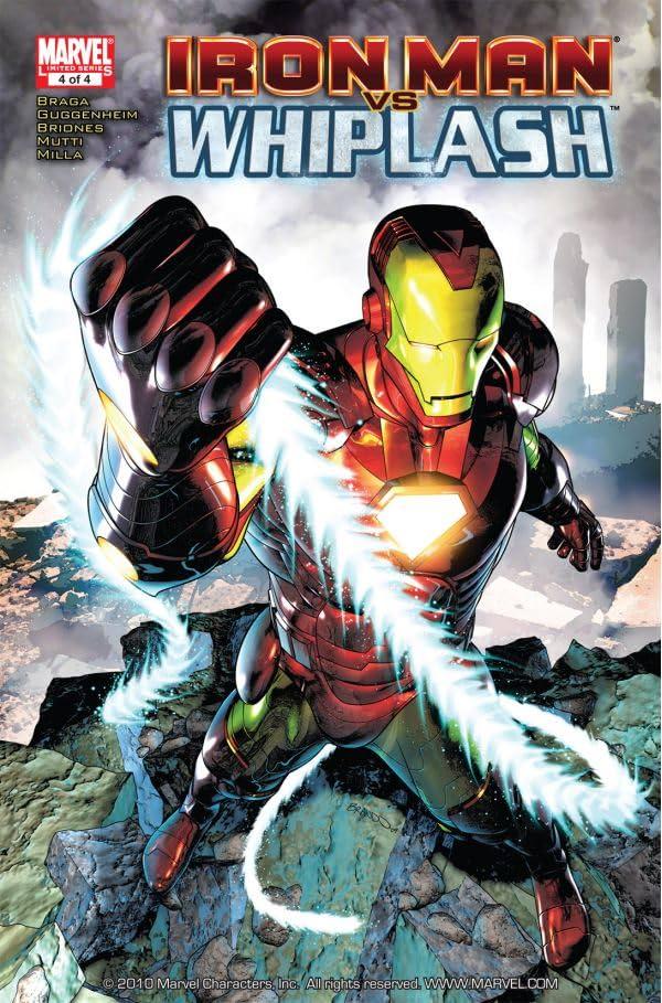 Iron Man vs. Whiplash #4 (of 4)