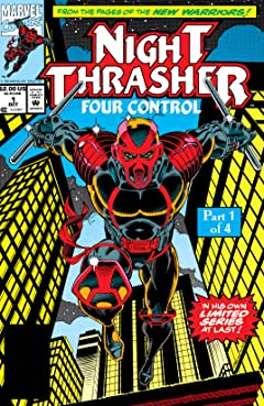 Night Thrasher: Four Control (1992-1993) #1 (of 4)