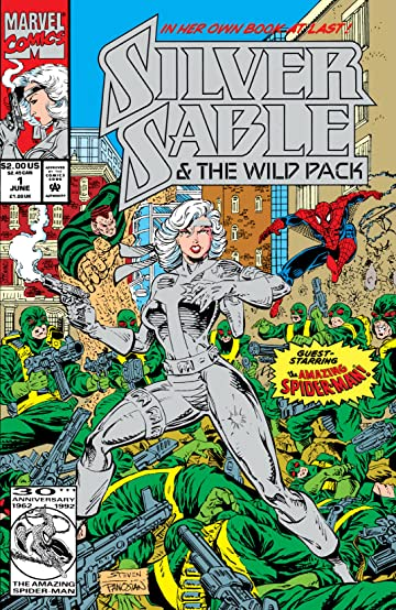 Silver Sable & The Wild Pack (1992-1995) #1