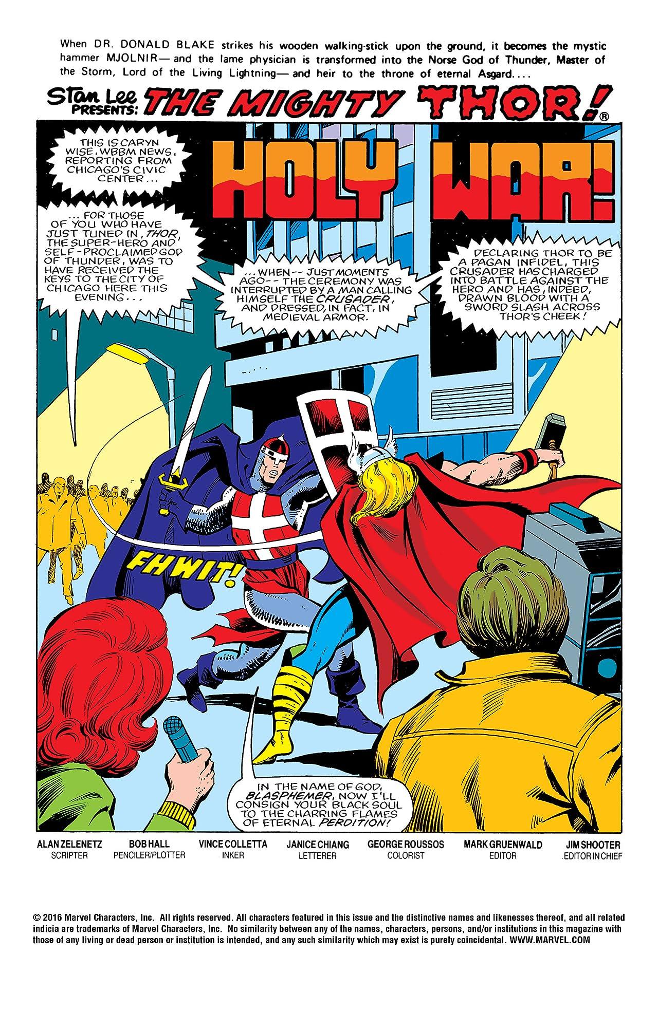 Thor (1966-1996) #331