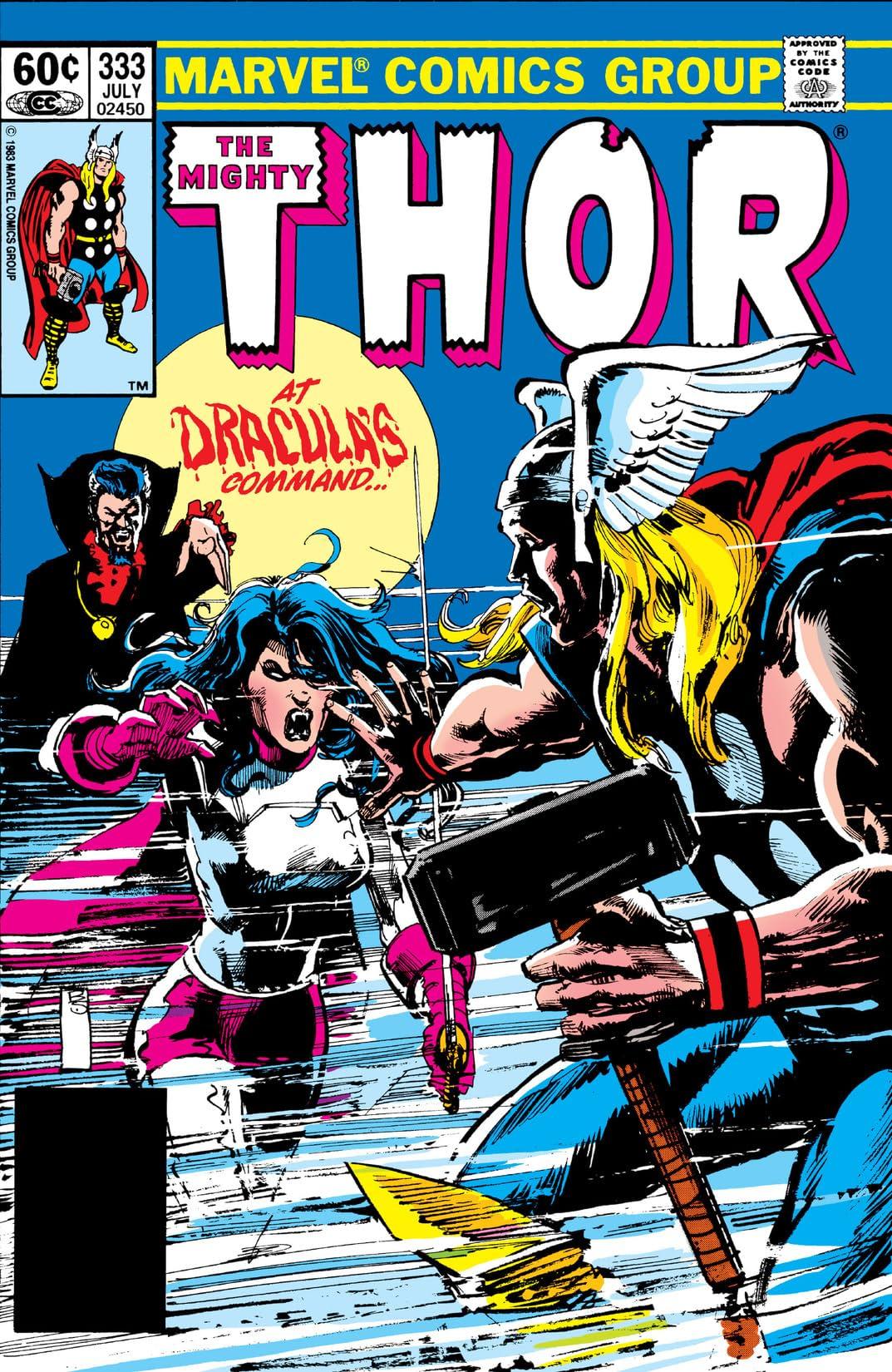 Thor (1966-1996) #333