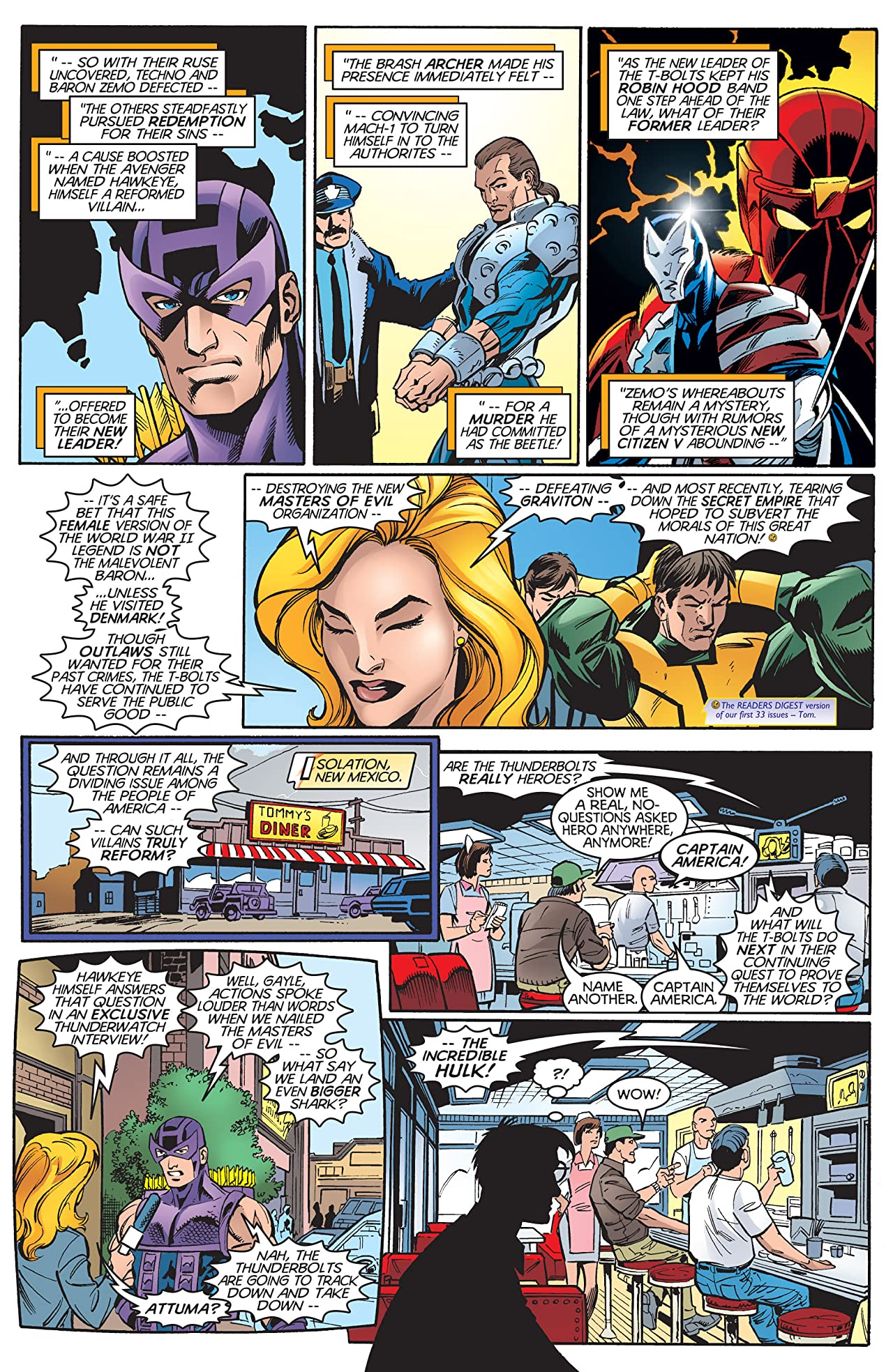 Thunderbolts (1997-2003) #34