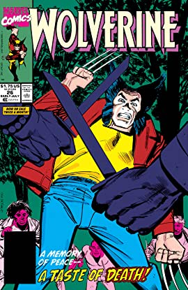Wolverine (1988-2003) #26