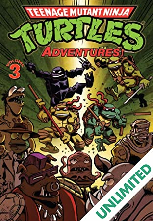 Teenage Mutant Ninja Turtles Adventures Vol. 3
