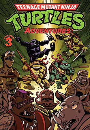 Teenage Mutant Ninja Turtles Adventures Tome 3