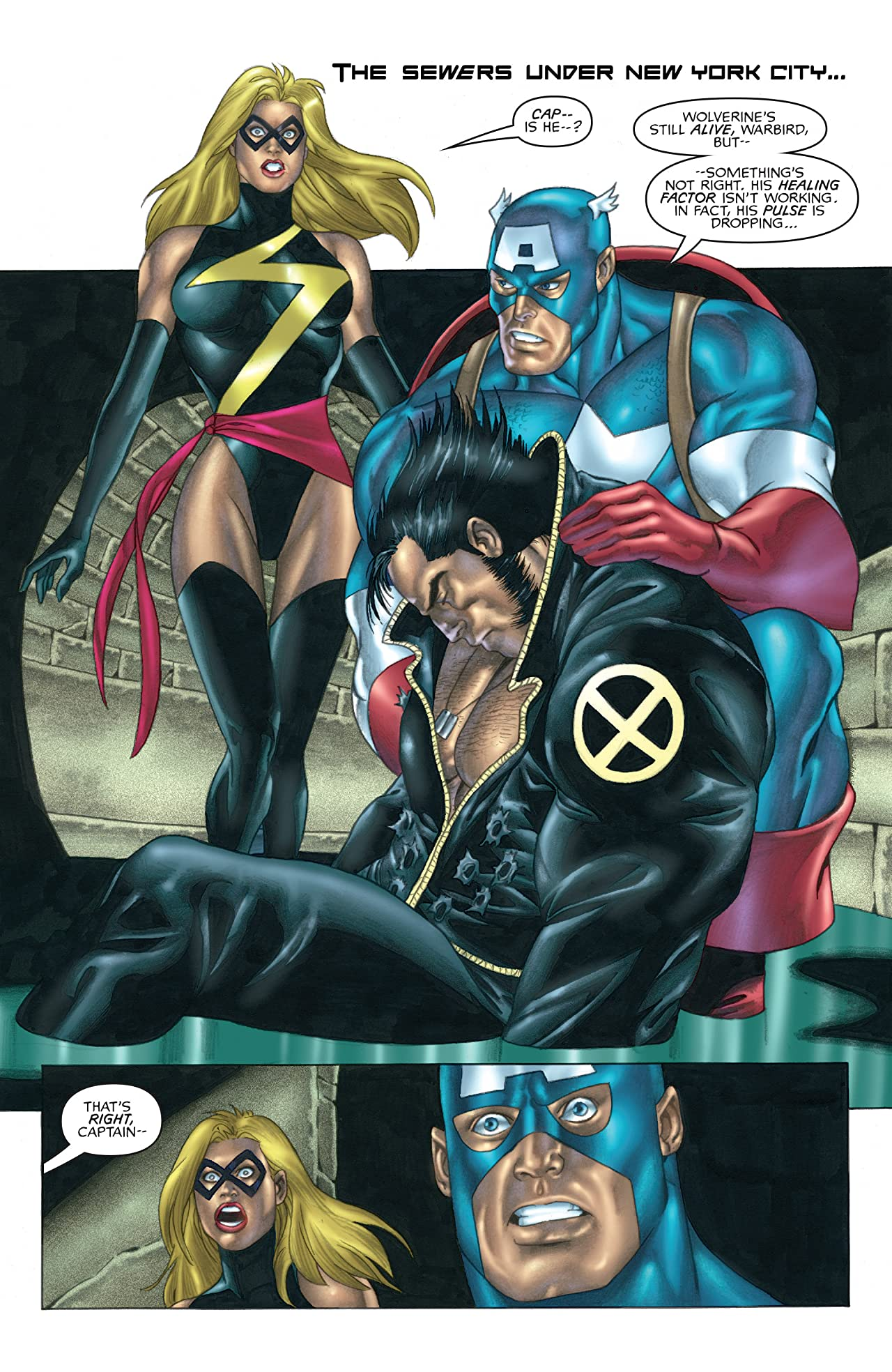 Wolverine / Captain America (2004) #2 (of 4)
