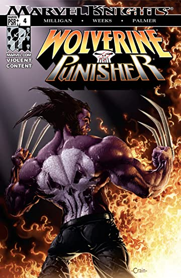 Wolverine/Punisher (2004) #4 (of 5)