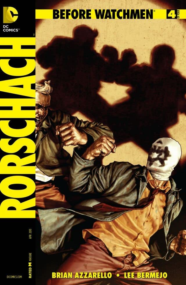 Before Watchmen: Rorschach #4 (of 4)