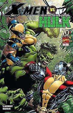 X-Men vs. Hulk (2009) #1