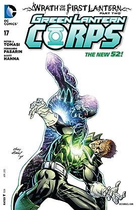 Green Lantern Corps (2011-2015) #17