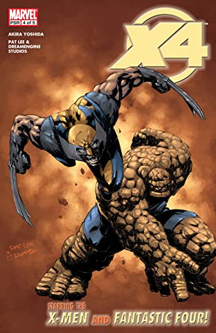 X-Men / Fantastic Four (2005) #4 (of 5)